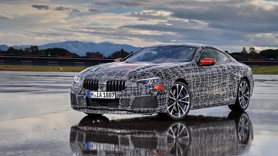 Teaser BMW Serie 8 2018: fotos oficiales