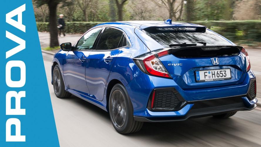 Honda Civic 1.6 i-DTEC, il Diesel è tornato