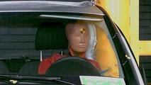 Mercedes A Class Pole Side Crash Test