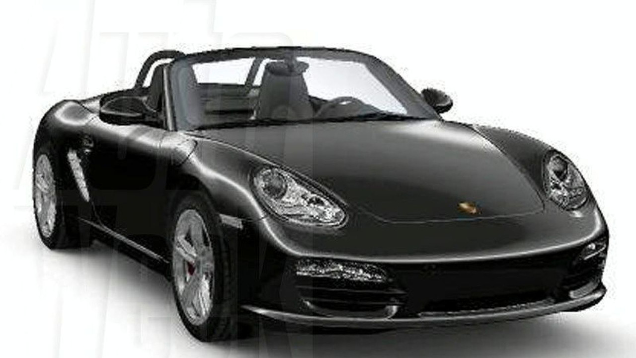 Leaked Porsche Cayman and Boxster Facelift Images
