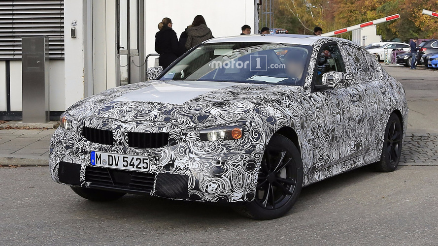 2018 BMW 3-as Sorozat Kémfotók