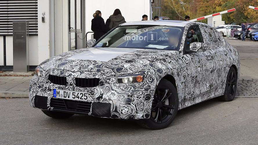 2018 BMW 3 Series spy photos
