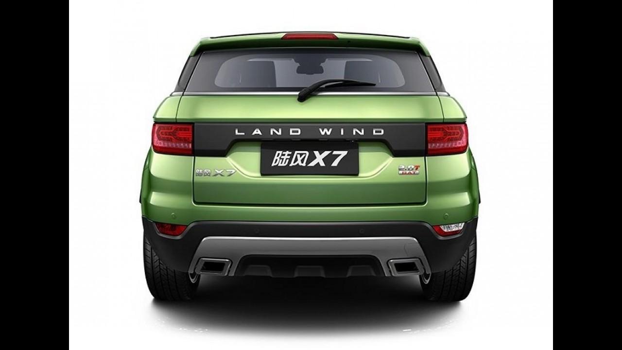 Landwind X7: cópia do Evoque começa a ser vendida no próximo mês
