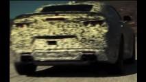 Camaro 2016 surge camuflado em teaser - vídeo