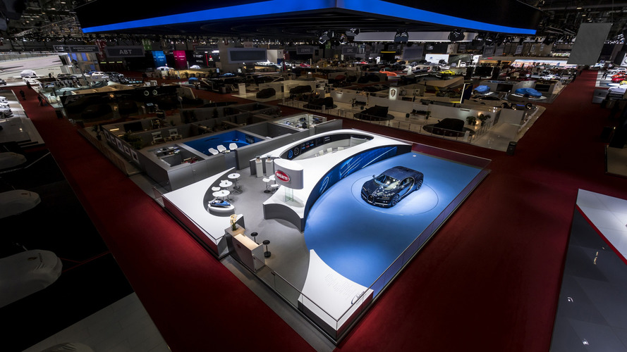 Bugatti had best stand at Geneva Motor Show