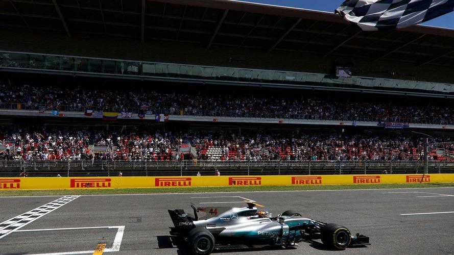 Na tática e arrojo, Hamilton vence na Espanha; Massa é 13º