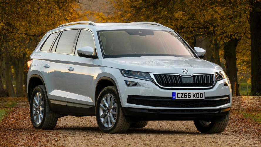 New Skoda Kodiaq SE Technology Means Business