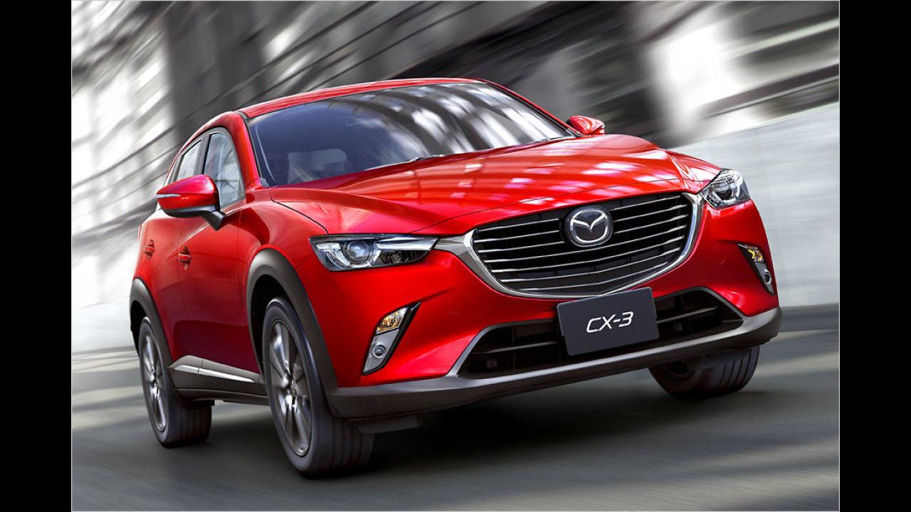 Mazda CX-3: Platz 3 ,World Design Car of the Year