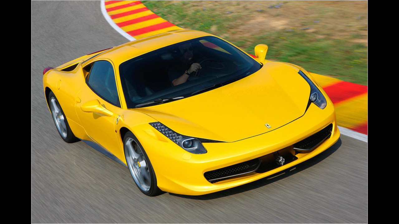 Bester Hochleistungsmotor: 4,5-Liter-V8 von Ferrari