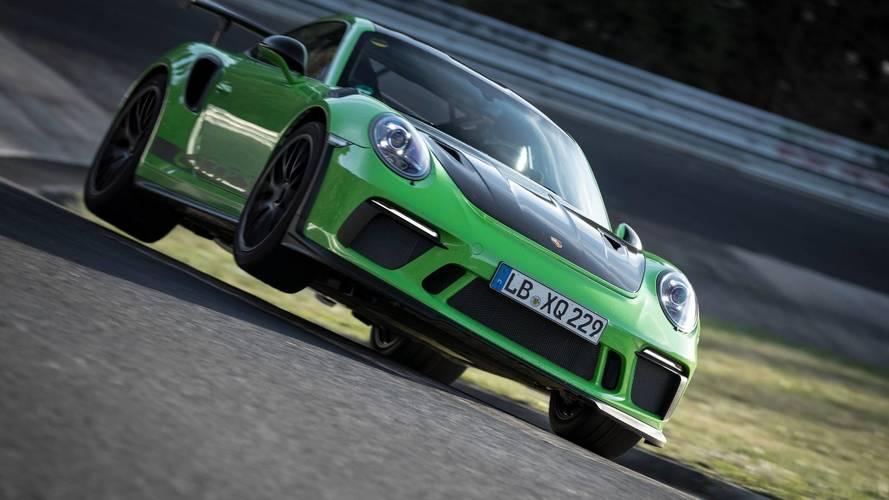 Porsche 911 GT3 RS 2018: vuelta rápida a Nürburgring en 6'56''40