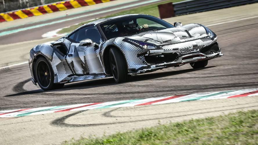 Ferrari 488 Pista - kontrollált csúsztatás és őrült tempó a fioraniói tesztpályán