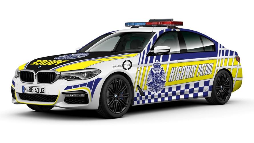 Police In Australia To Get 80 BMW 530d Highway Patrol Cars