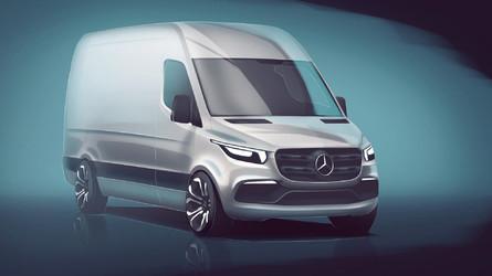 Mercedes-Benz Sprinter - Un premier aperçu avant sa présentation