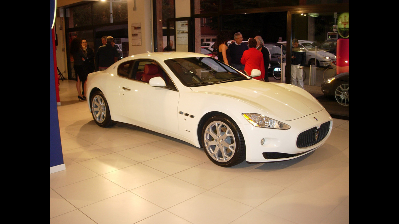 Maserati Granturismo nelle concessionarie