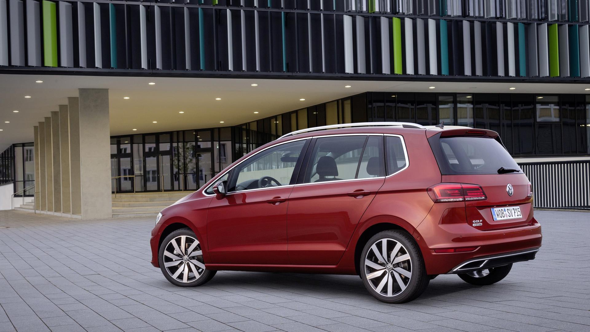 Resultado de imagen de Volkswagen Golf Sportsvan