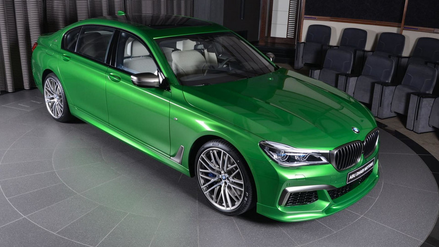 Rallye Green M760Li Is A BMW Individual Tour De Force