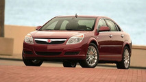 The Saturn Aura four-cylinder will not see a price increase