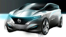 Nissan FORUM Concept Interior Sketch
