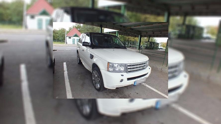Lopott motoros Range Rovert akartak kicsempészni az országból