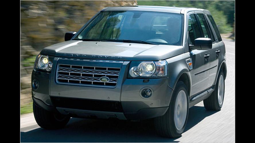 Land Rover Freelander: Neuauflage startet Anfang 2007