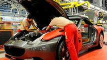 Ferrari California production line