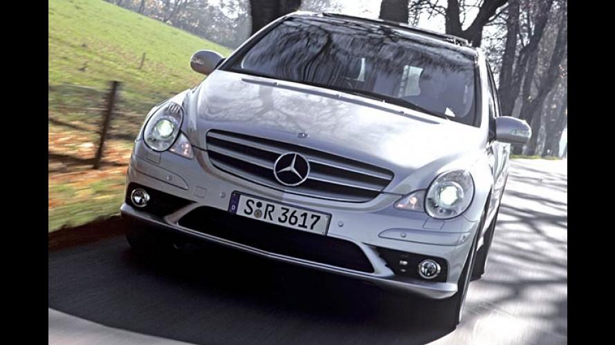 Mercedes R-Klasse: Bissige AMG-Optik für den Raum-Benz