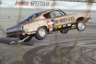 Watch Jay Leno Take a Tumble in a 2,500-HP Muscle Car