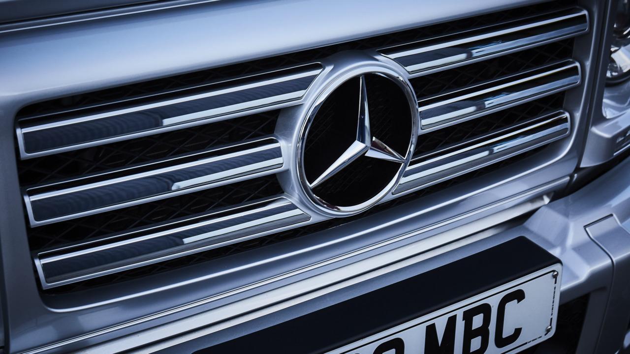 Mercedes EV development