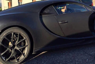 Bugatti Chiron Caught Looking More Production-Ready