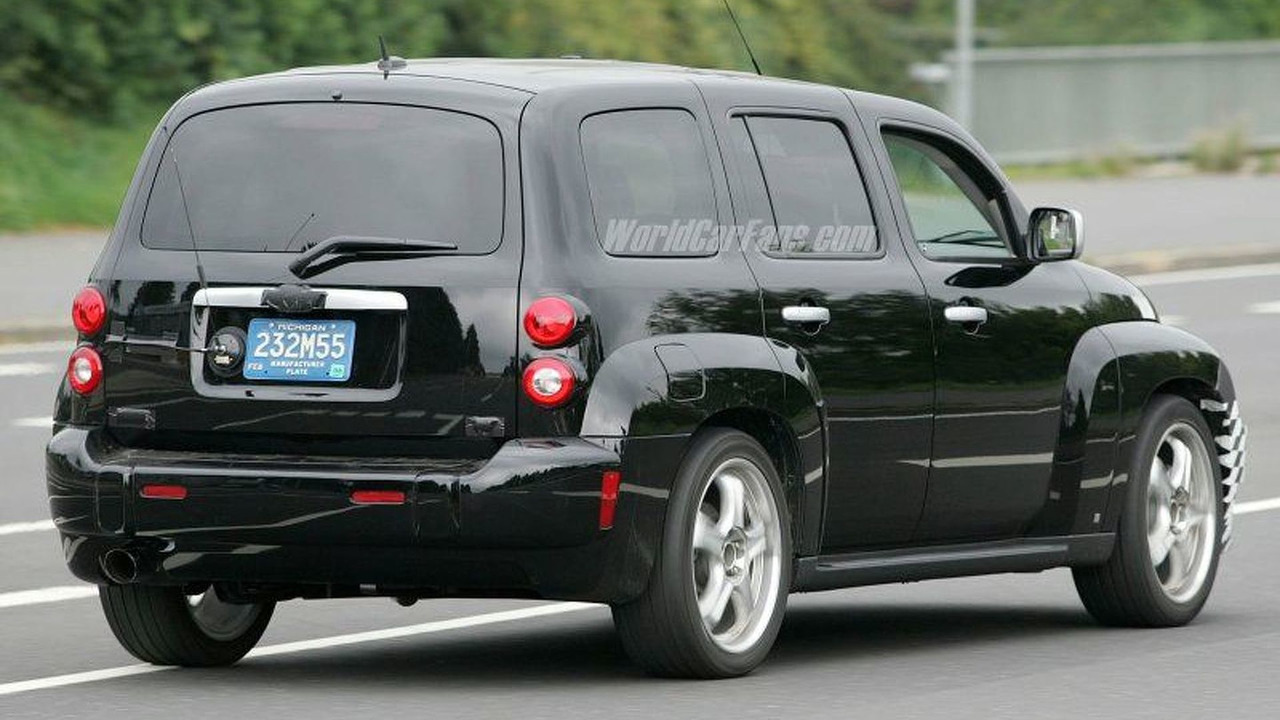 SPY PHOTOS: Chevrolet HHR SS