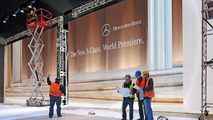 2014 Mercedes-Benz S-Class reveal at Airbus A380 delivery center 14.05.2013