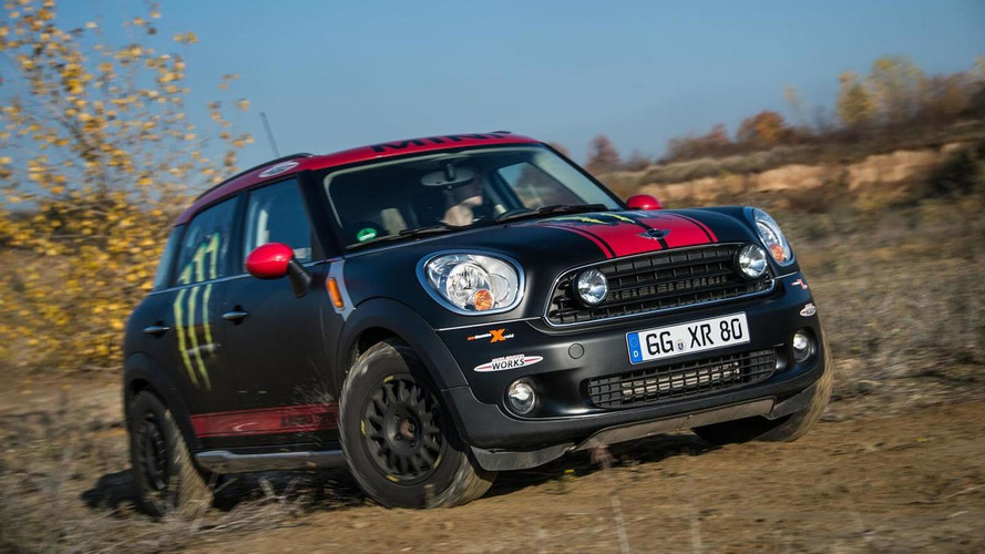 MINI Countryman with off-road design package headed to Dakar Rally