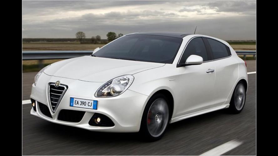 Ab sofort verfügbar: Alfa Giulietta mit neuem 140-PS-Diesel