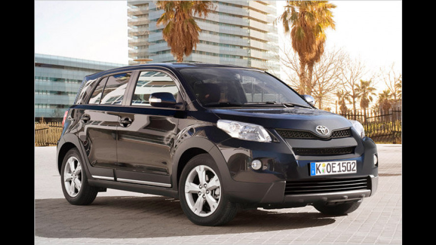Toyota Urban Cruiser mit Allrad nun günstiger
