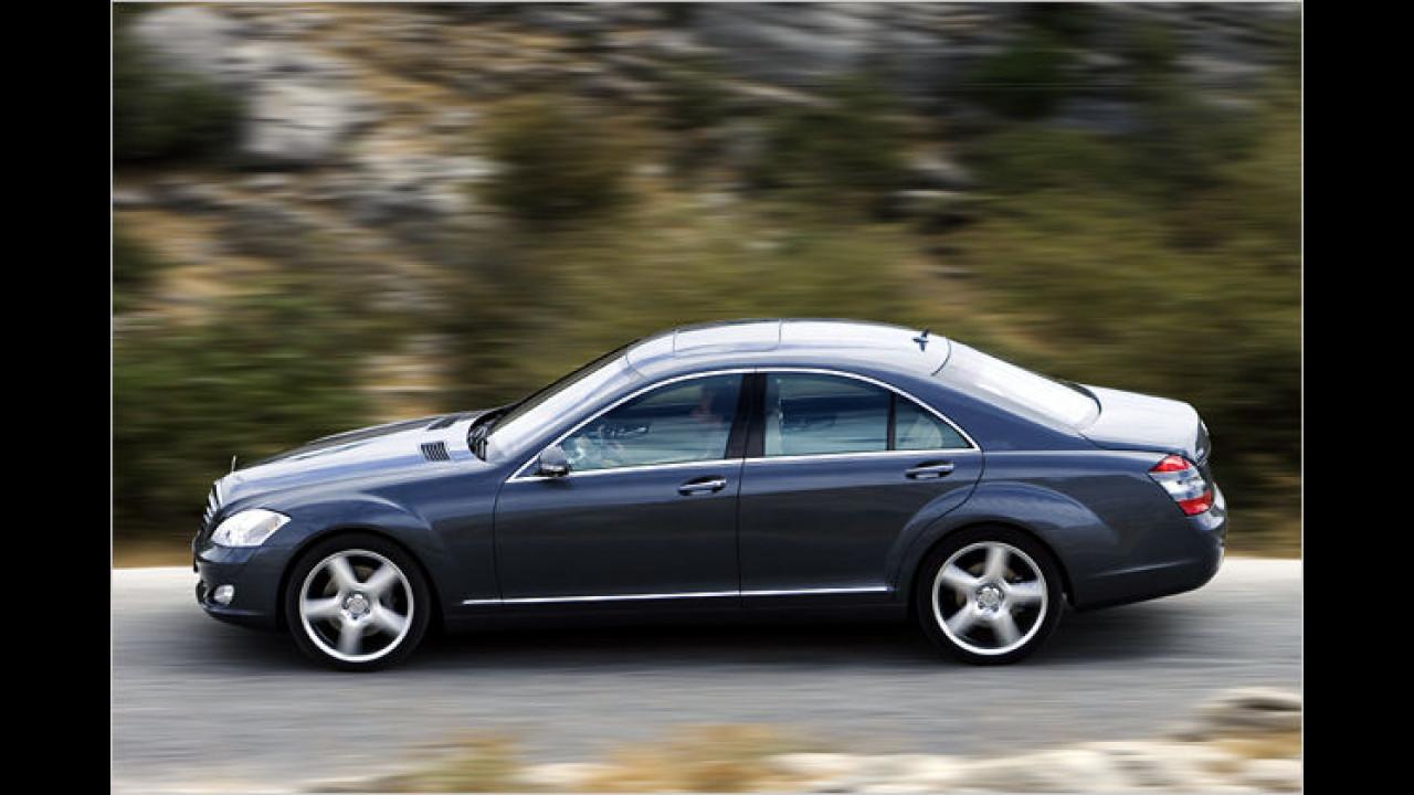 Männerauto: Mercedes S-Klasse