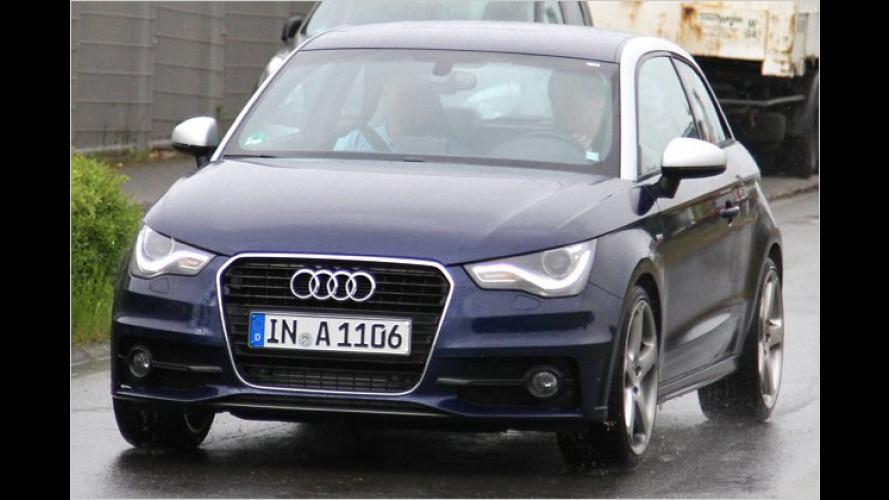 Ungetarnt: Neuer Audi S1 kommt mit dicken Endrohren