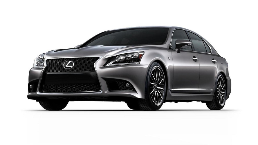 2013 Lexus LS revealed