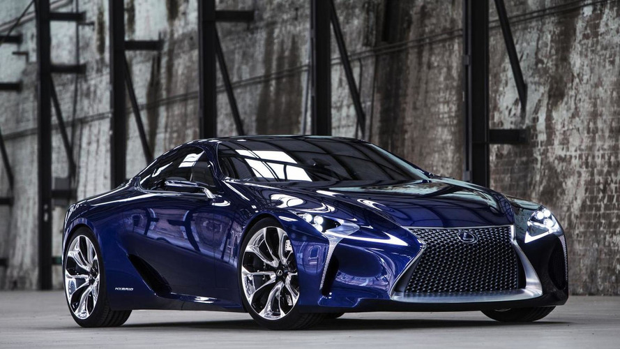 Lexus confirms plans to roll out LF-LC production version