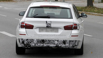 2013 BMW 5-Series Touring spy photo 29.10.2012 / Automedia