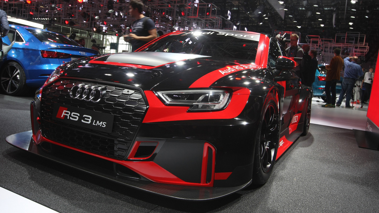 audi sport unveils rs3 lms race car. Black Bedroom Furniture Sets. Home Design Ideas