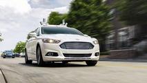Ford Fusion Hybrid autonomous test car