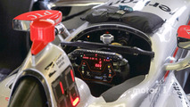 Will Power, Team Penske Chevrolet, steering wheel detail