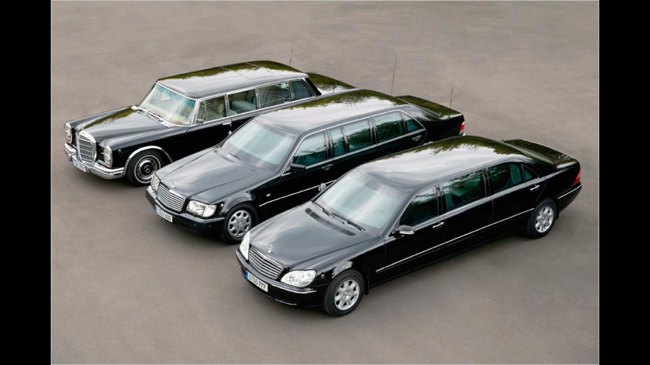 Mercedes Pullman-Limousinen
