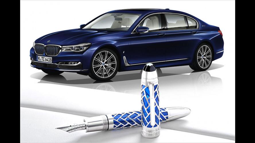 BMW und Montblanc machen gemeinsame Sache