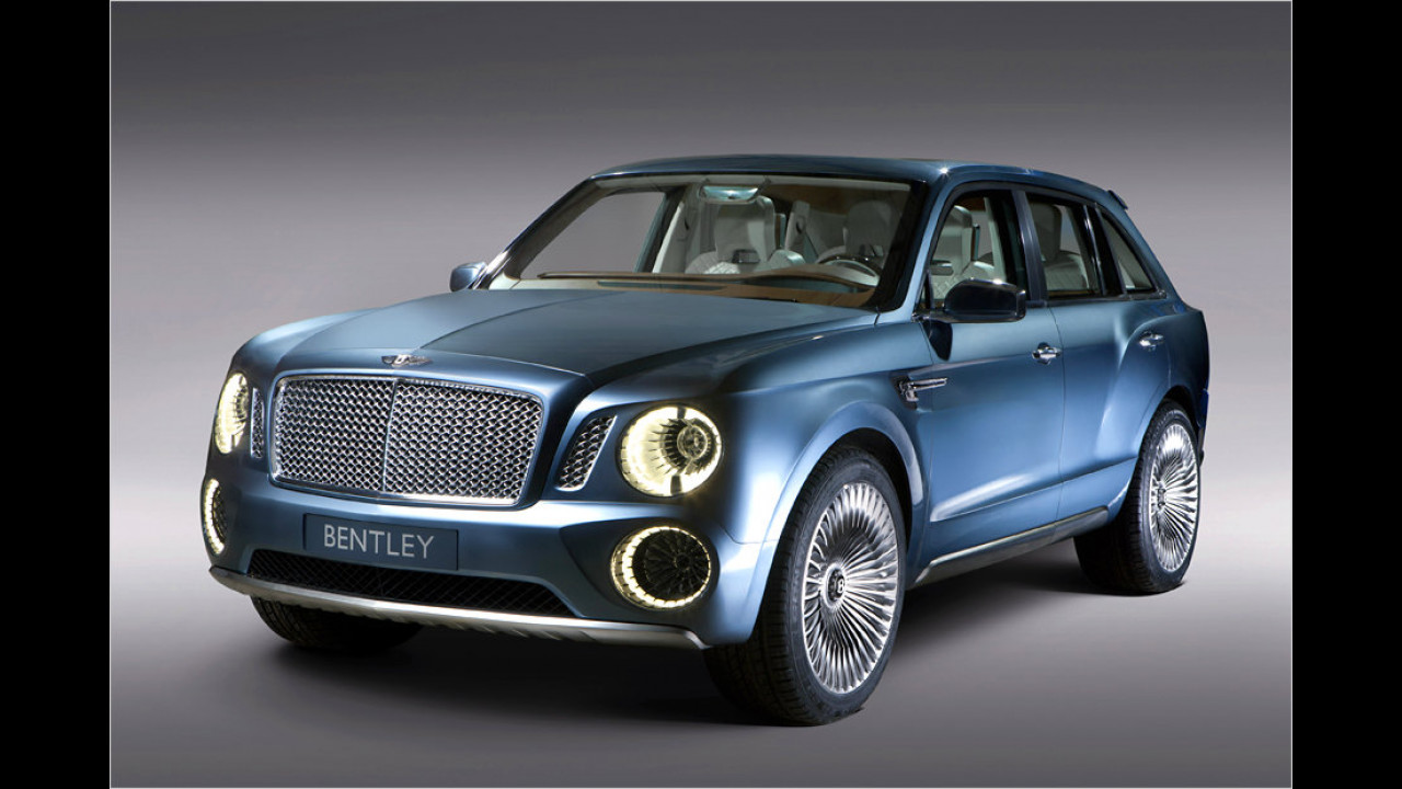 Bentley Bentayga (ab November)