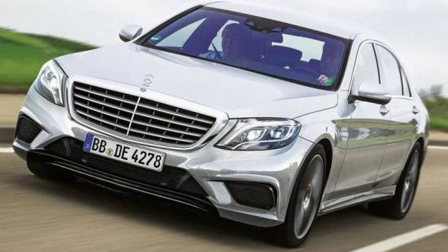 2014 Mercedes S63 AMG leaked?