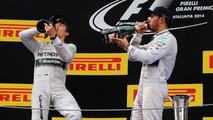 Mercedes drivers say Monaco 'war' over now
