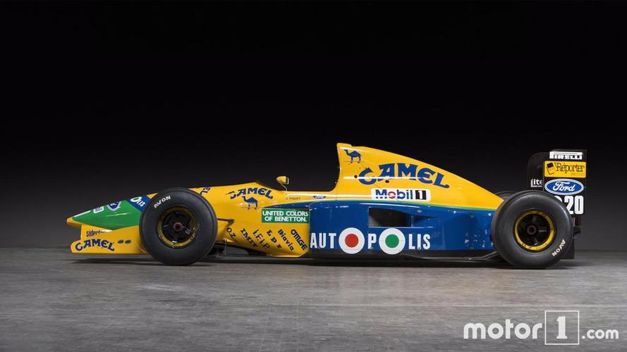 À vendre aux enchères - Benetton, ex-Schumacher et Piquet