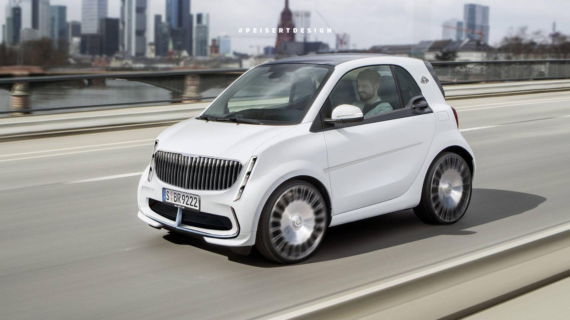 Smart Maybach By Peisert Design Is Electric, Luxurious ...