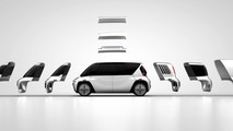 Modular autonomous electric vehicle